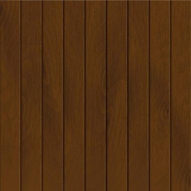 Vector dark wood planks