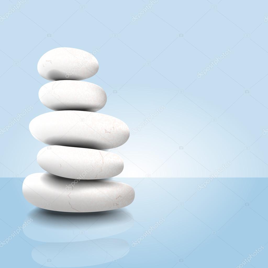 vector piedras zen archivo imgenes vectoriales - Piedras Zen