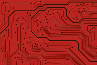 Circuit board pattern. abstract technology vector background