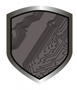 Shields with circuit board