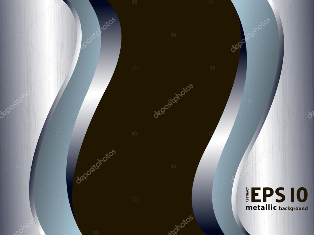 Metal Welle Stil Vektor Hintergrund. Eps10 Vektor Moderne Tapete Im  Industriellen Stil U2014 Stockvektor