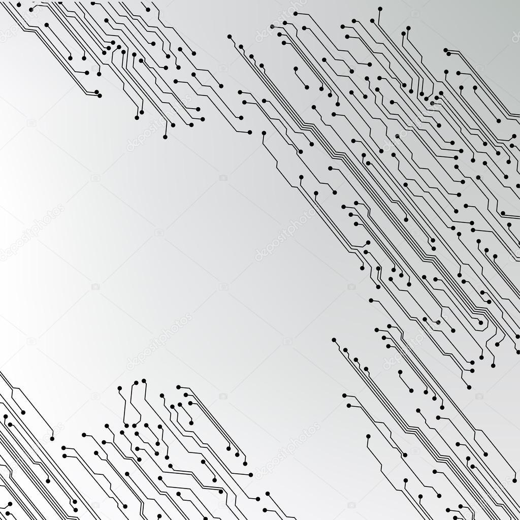 texture d\'arrière-plan EPS10 vector circuit imprimé — Image ...