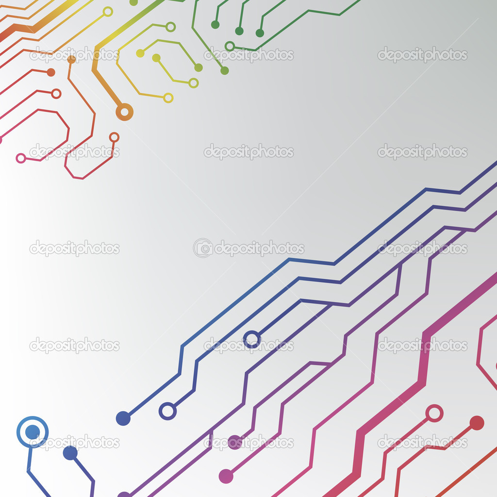 Circuit board pattern. abstract technology hi-tech circuit board ...