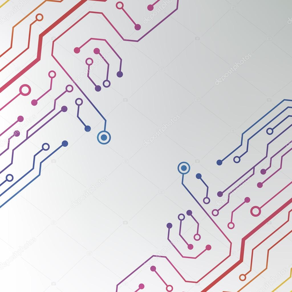 Circuit board pattern. abstract technology hi-tech circuit board ...