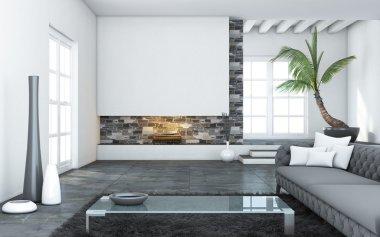 Big Modern Living Room