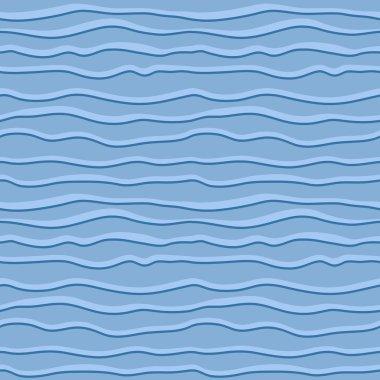 Wavy lines pattern