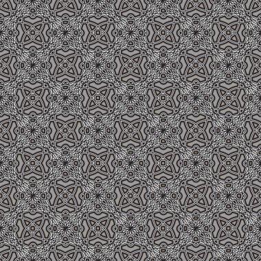 Grey lace pattern