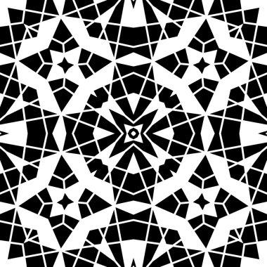 Geometric lace pattern