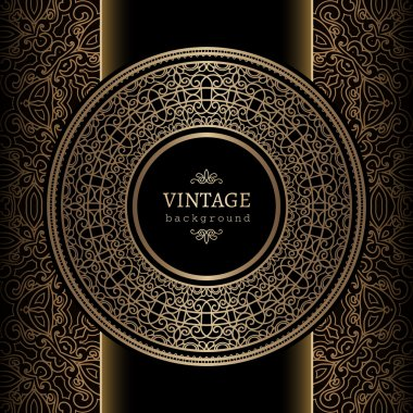 Vintage gold background