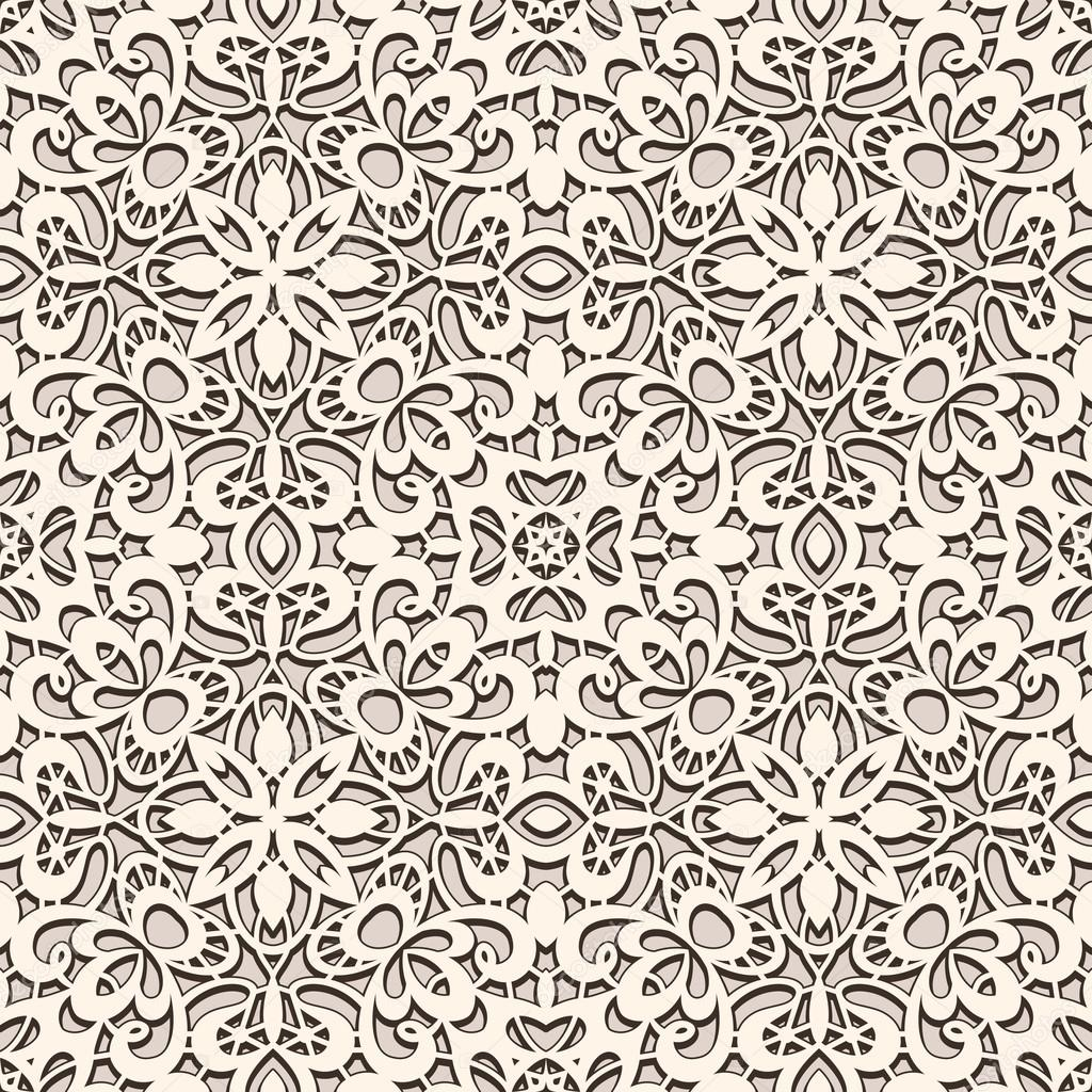 Vintage Lace Pattern Stock Vector