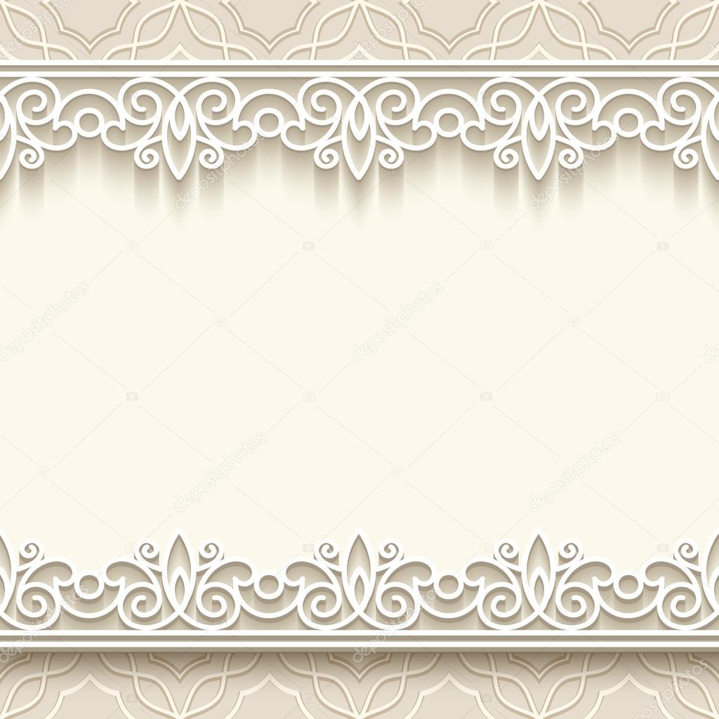 Scrapbook paper lace - Paper Lace Background Stock Vector 43618843