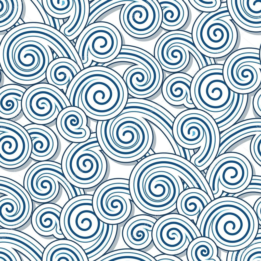Swirly waves