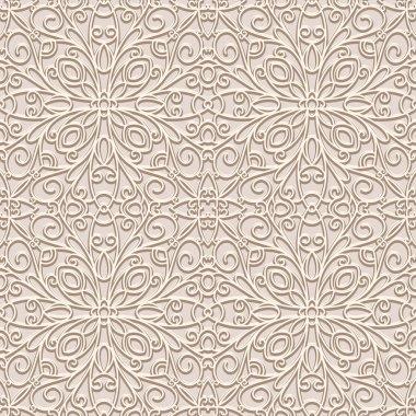 Vintage beige pattern