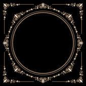 Fotografia oro gioielli tondo telaio
