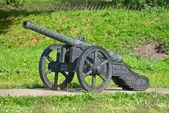 Fotografie alte Artilleriegeschütz
