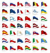 set di bandiere