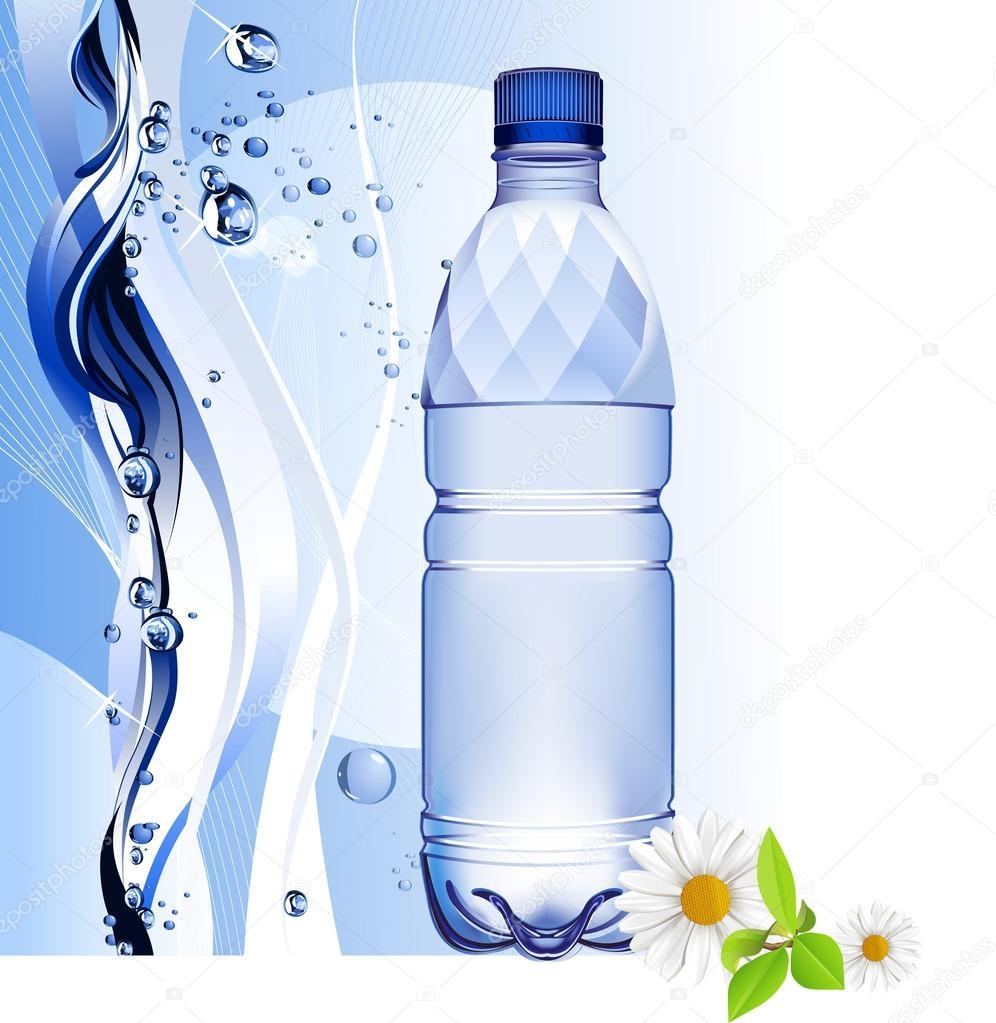 Water bottle.