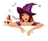 Photo Sexy Halloween witch