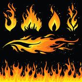 Photo Fire icon set