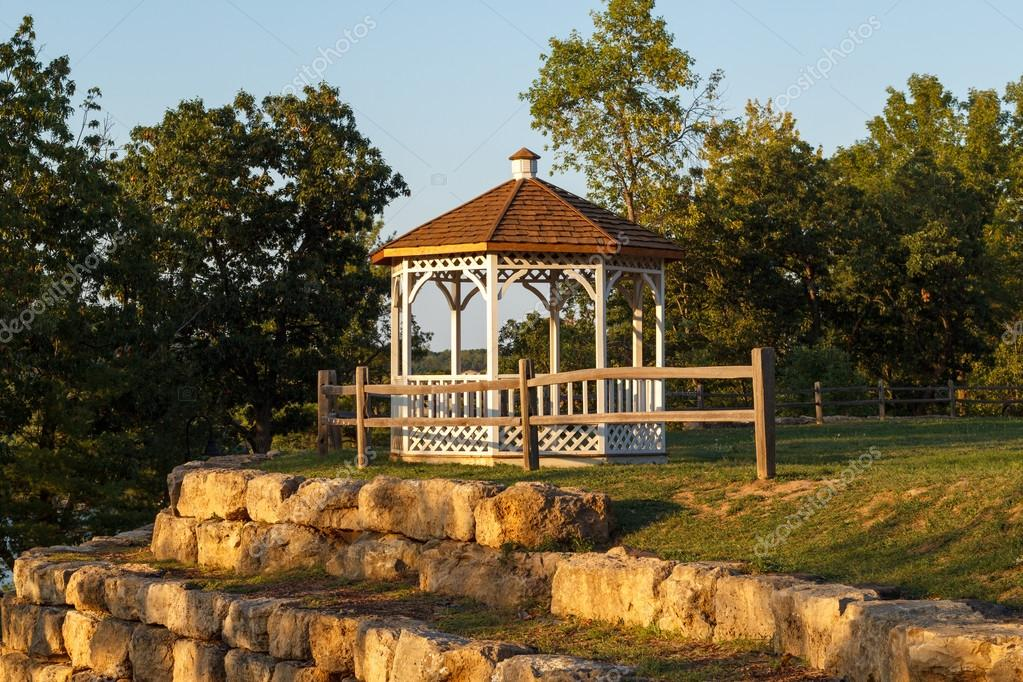 Gazebo in the park
