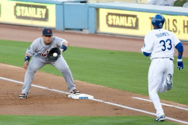 The Major League Baseball game
