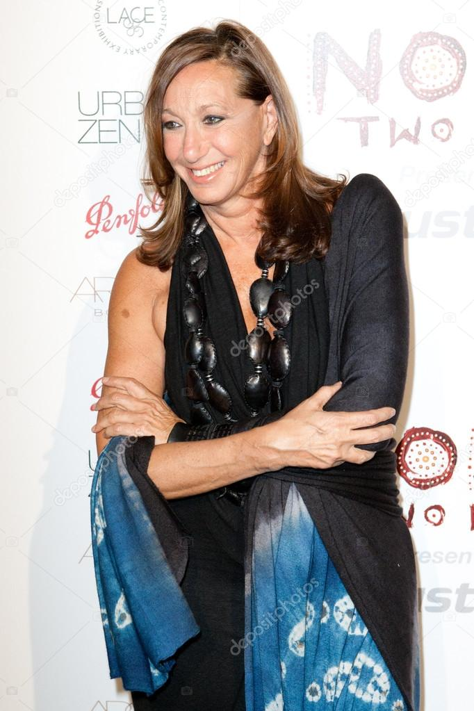 Fashion Designer Creator Of Dkny Clothing Label Donna Karan Arrives At The Nomad Two Worlds Los Angeles Gala At 59 Pier Studios West Stock Editorial Photo C Photoworksmedia 14373363