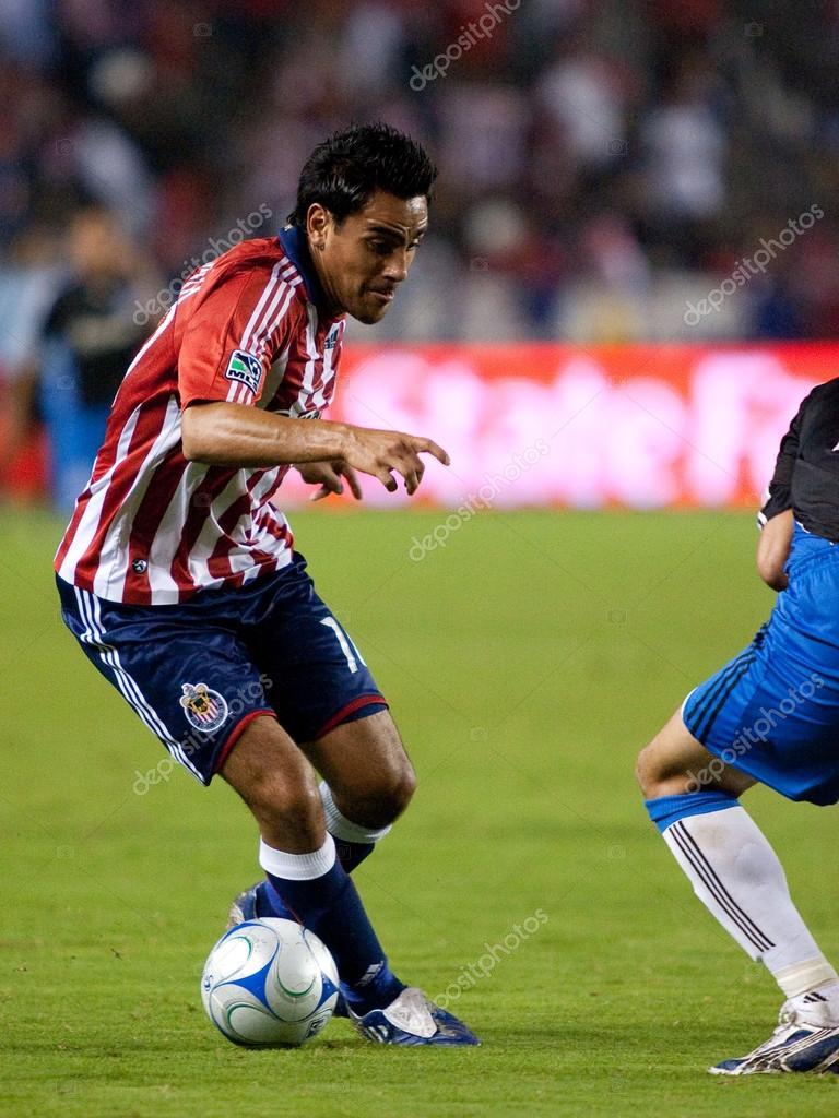 Jesus Padilla In Action During The Chivas Usa Vs San Jose