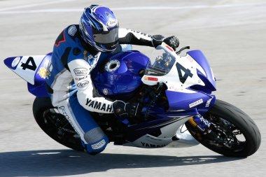 Clinton Seller rides his Yamaha YZF-R6