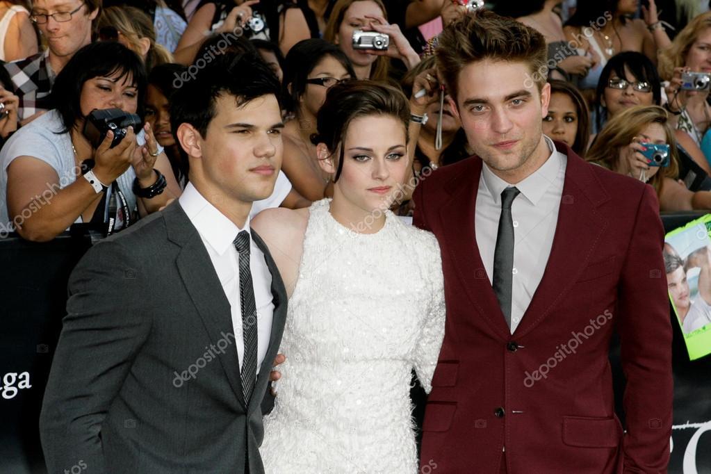 Kristen Stewart And Taylor Lautner And Robert Pattinson