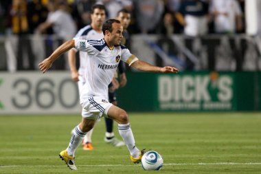 Landon Donovan in action during the game