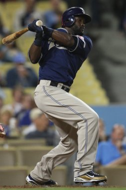 TONY GWYNN takes a swing during the game