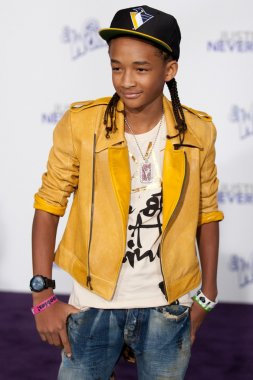 JADEN SMITH arrives at the Paramount Pictures Justin Bieber: Never Say Never premiere