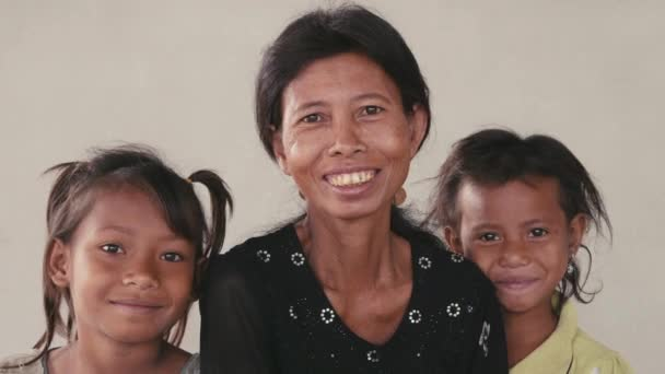 Happy family  from Cambodia