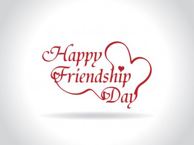 Beautiful friendship day design. vector illustration clip art vector