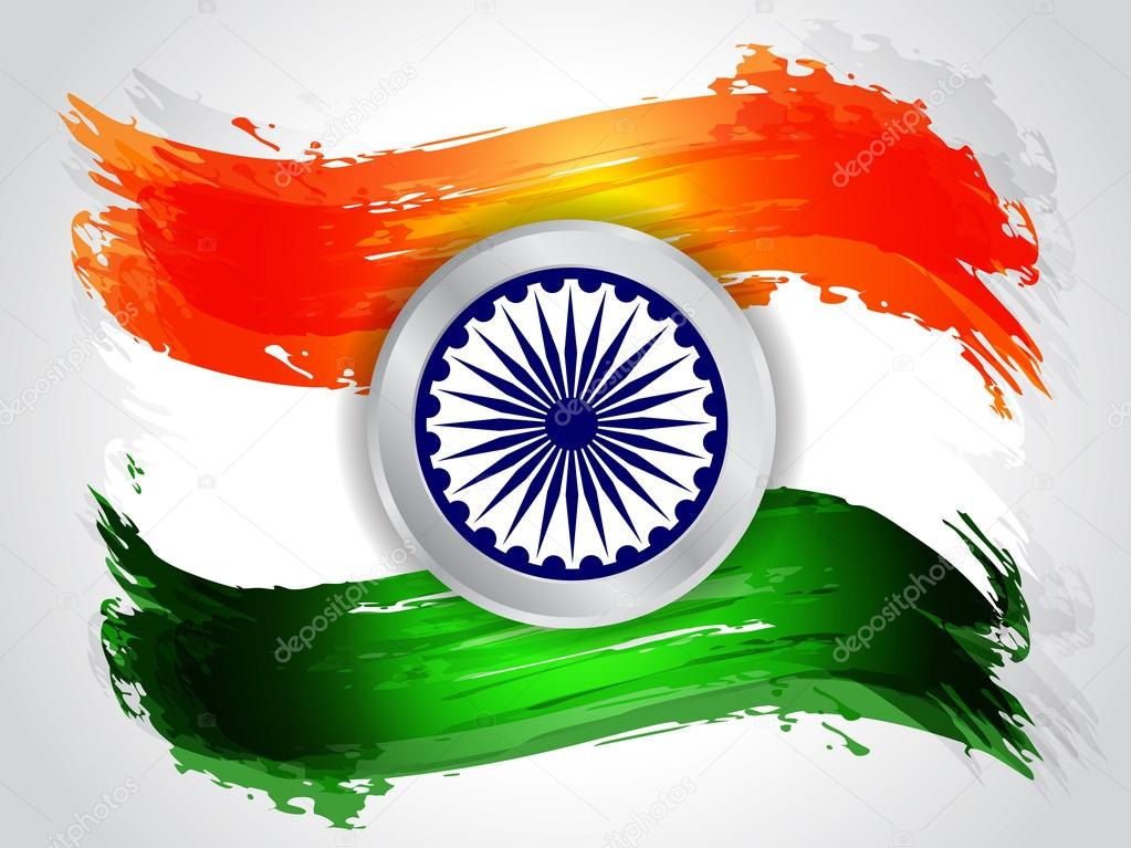 Indian flag Stock Vectors, Royalty Free Indian flag Illustrations
