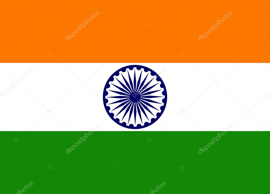 Creative indian flag design.