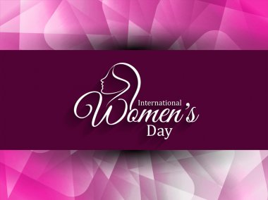 Beautiful women's day background.