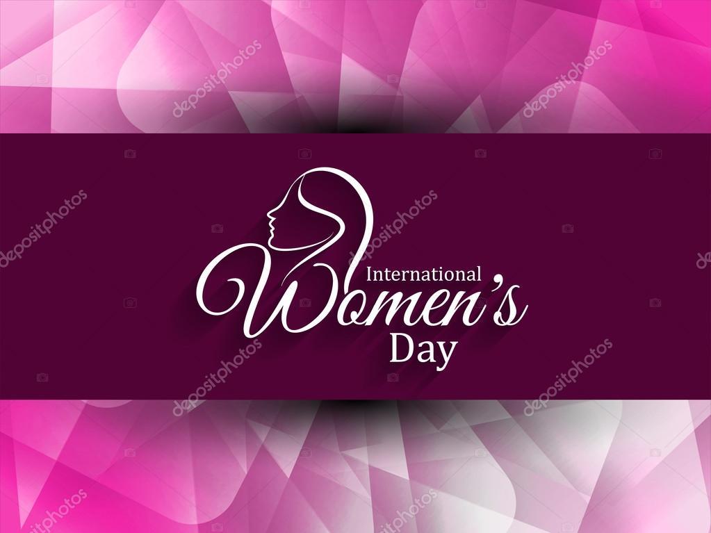 Beautiful women's day background.