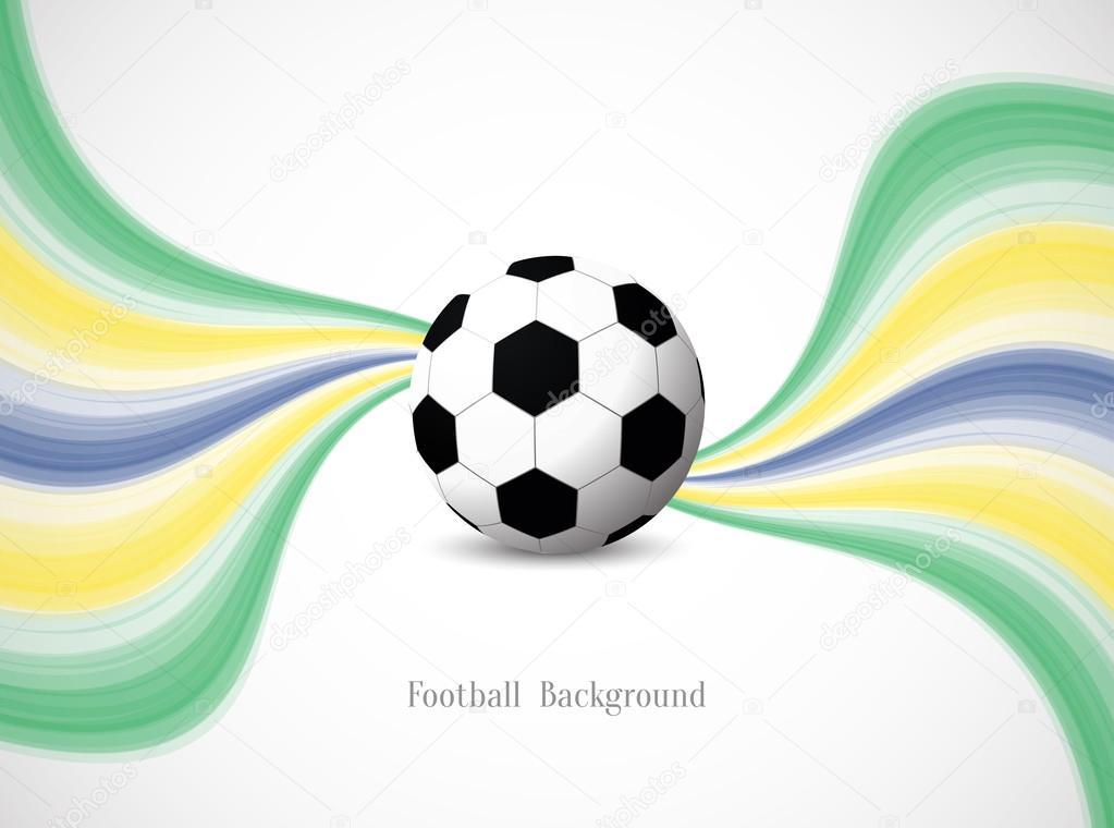 fondo del fútbol Brasil color tema — Vector de stock © Creativehat ...