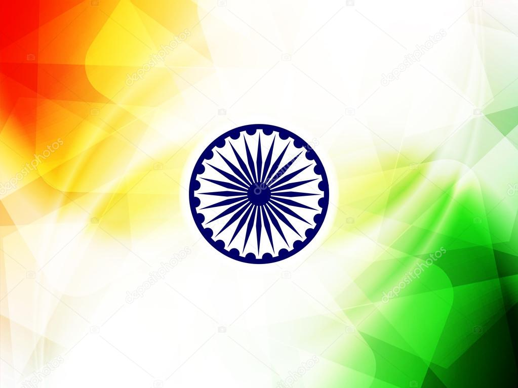Indian Flag Theme: Indian Flag Theme Background For Republic Day And