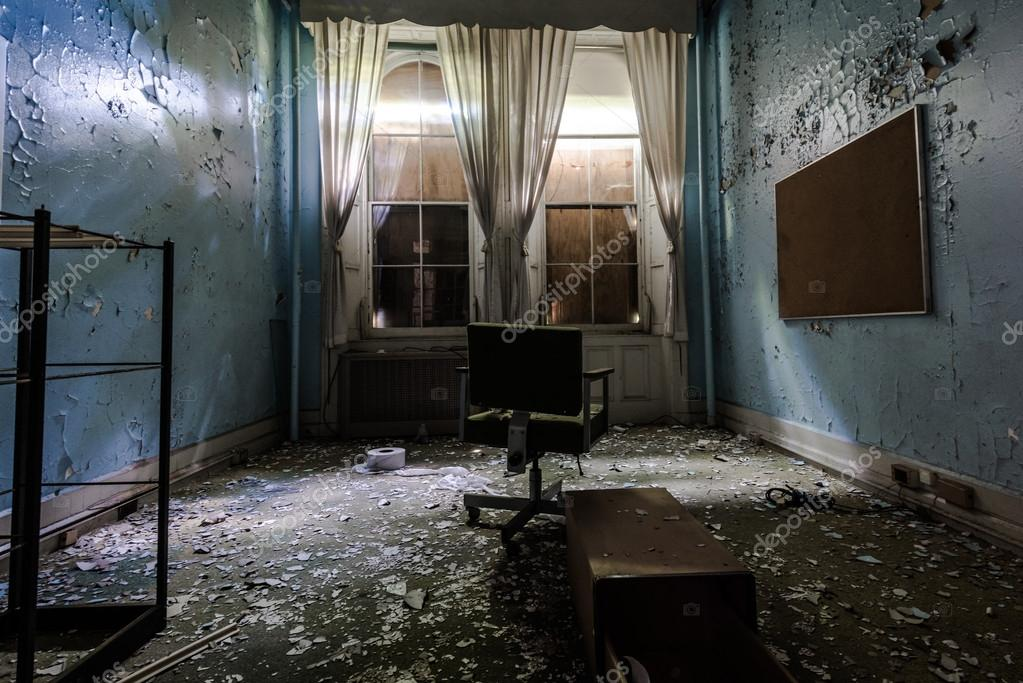 Old Room In Abandoned Hospital Photo By MKolesnikov