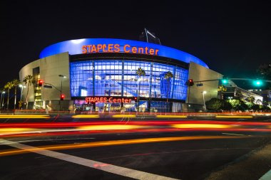 Los Angeles, USA - September 14: Los Angeles Staples Center in LA