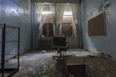 Old Abandoned Room in the Hospital