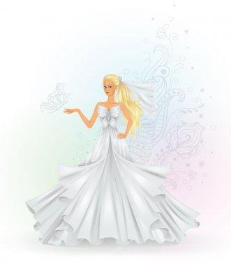 Beautiful fashion bride