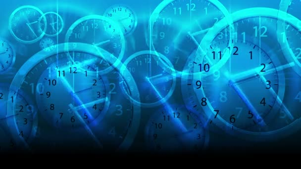 Time Flies Background - Clock 80 (HD)