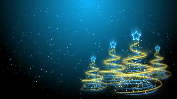 Christmas Trees Background - Merry Christmas 61 (HD)