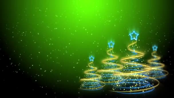 Christmas Trees Background - Merry Christmas 60 (HD)