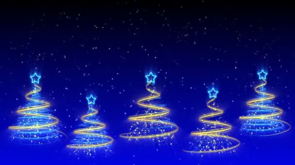 Christmas Trees Background - Merry Christmas 40 (HD)