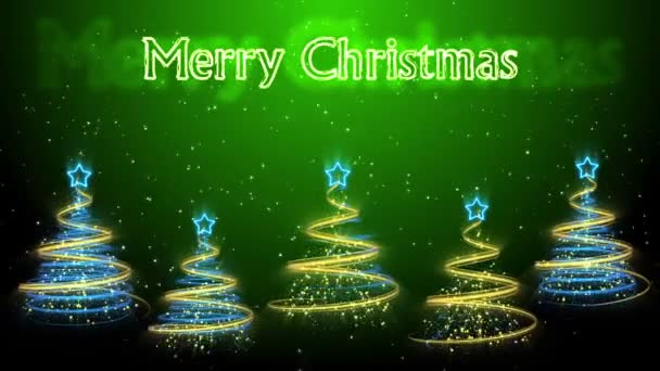Christmas Trees Background - Merry Christmas 49 (HD)