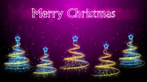 Christmas Trees Background - Merry Christmas 46 (HD)